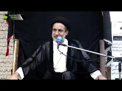 [04] Topic: Quran or Karbala   H.I Muhammad Haider Naqvi   Safar 1441 - Urdu