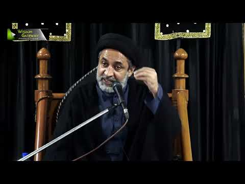 [07] Topic: Karbala Sirat e Mustaqeem   H.I Muhammad Haider Naqvi   Safar 1441 - Urdu