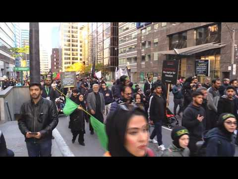 Alamdar Moosvi - Arbaeen Walk Toronto Oct  20, 2019 - Urdu