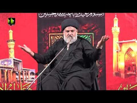 [Majlis] Topic: Imam Sajjad (as) | Moulana Hasan Raza Hamdani - Urdu