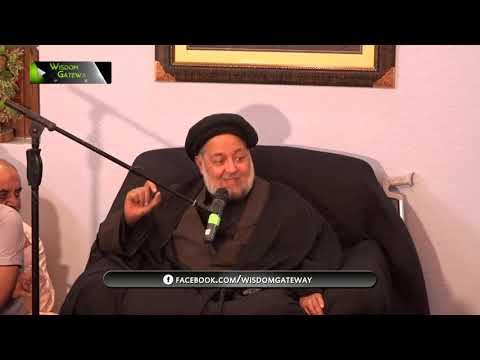 [Majlis] Topic: Muhabbat, Sunnat e Elahi | H.I Jafar Khawarzmi | Safar 1441 - Urdu