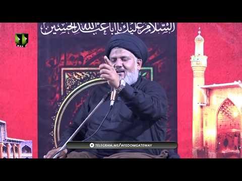 [01] Topic: Farsh-e-Aza ki Ahmiyat | H.I Hassan Raza Hamdani | Safar 1441-2019 | Urdu