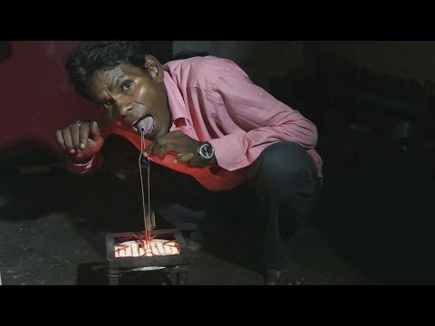 [03/11/19] Extraordinary man uses electricity as alternative food source - English