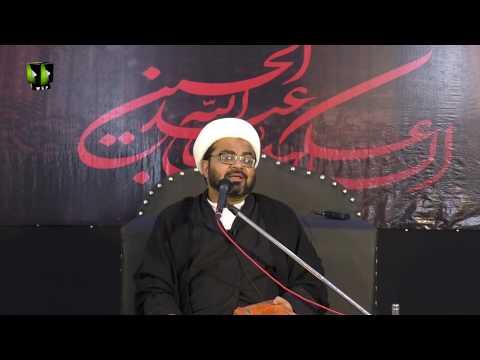 [04] Topic: Quran main Ayaat e Wilayat  H.I Muhammad Raza Dawoodani  Muharram 1441-2019  Urdu
