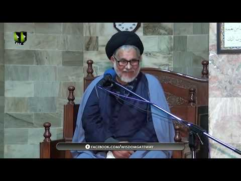 [03]Maqam o Manzilat e Dukhtar e Rasool(s.a.w.w)  | مولانا سیّد حسن ظفر نقوی | Urdu