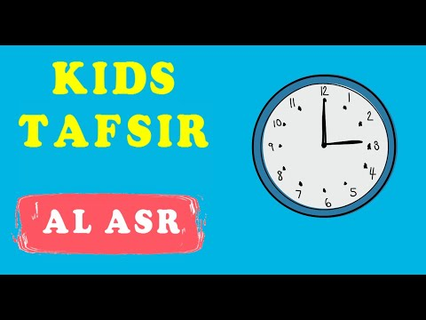 NEW SERIES !!  Quran Tafsir for Kids - SURAT AL ASR