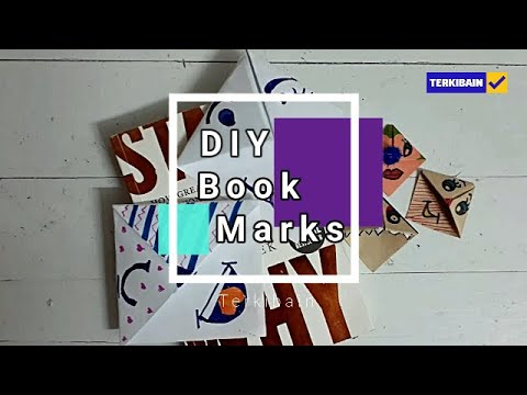 How to make bookmark corners:Easy DIY  bookmark corners for beginners All Languages