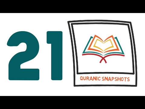 [Buid relationship with Quran] One Ayat from Juz 21 of Quran - English