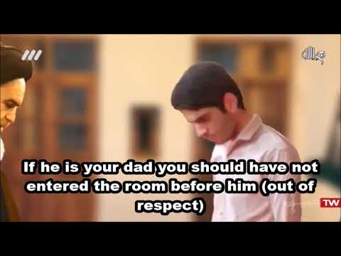 Imam Khomeini life stories - Respect for dad - Farsi Sub English
