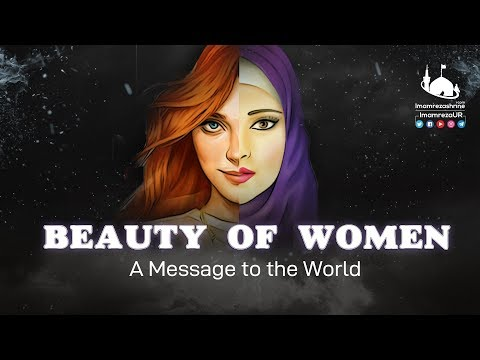 Haya Aur Parda | Female Beauty Around The World | Beauty of Women | English