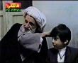 Ayatollah Taqi Behjat with Muhammad Hussain Tabatabai