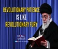 Revolutionary PATIENCE is like Revolutionary FURY | Imam Khamenei | Farsi Sub English