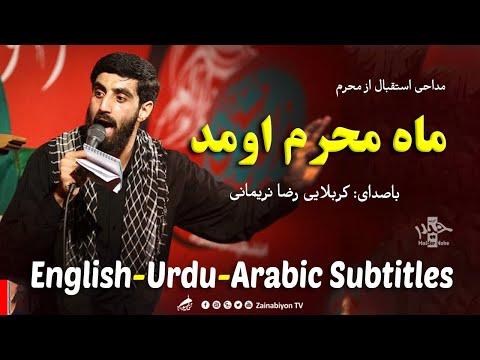 ماه محرم اومد - سید رضا نریمانی | مترجمة للعربية | Farsi sub English Urdu Arabic