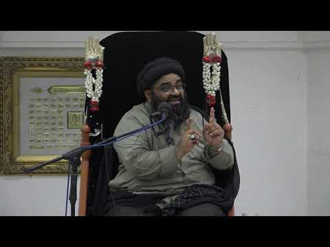 Majlis 5 | Topic: Hube Ilahi aur Karbala | Maulana Kazim Abbas Naqvi Muharram 1442/2020 Urdu