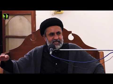 [2] Imam Hussain (as), Alambardar -e- Nizam -e- Touheed | H.I Muhammad Haider Naqvi | Muharram 1442 | Urdu