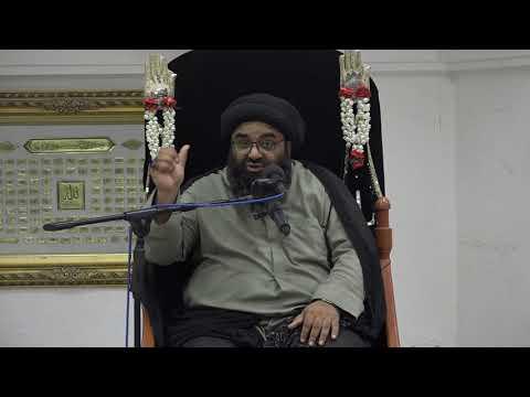 Majlis 06 |Topic: Hube Ilahi aur Karbala | Maulana Kazim Abbas Naqvi |Muharram 1442/2020 Urdu