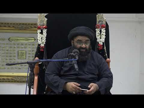 Majlis 8 | Topic: Hub e Ilahi Aur Karbala | Maulana Kazim Abbas Naqvi | Muharram 1442/2020 Urdu