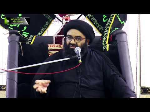 [8] Imamat Or Hidayat   H.I Kazim Abbas Naqvi   Muharram 1442/2020   Urdu