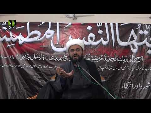 [08] Ashura Aur Intizar | حجّۃ الاسلام مولانا محمد علی فضل | Urdu
