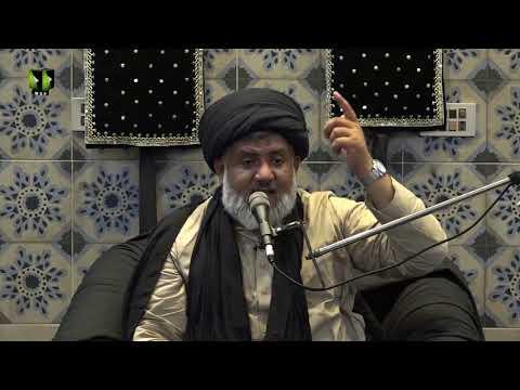 [02] Ista\'anat (Madad) | حجّۃ الاسلام مولانا حسن رضا ہمدانی | Urdu