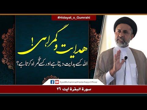 Hidayat-o-Gumrahi!    Ayaat-un-Bayyinaat    Hafiz Syed Muhammad Haider Naqvi