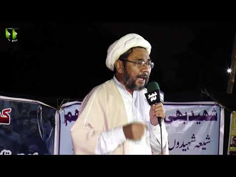 [Speech] Ahtejaji Dharna Karachi | Day 2 | Moulana Muhammad Hussain Raesi | 06 January 2021 | Urdu