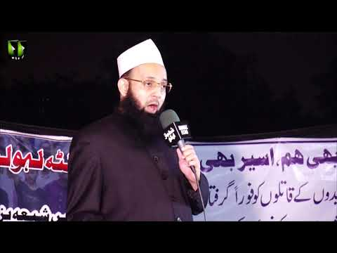 [Speech] Ahtejaji Dharna Karachi | Day 2 | Moulana Manzar ul Haq Thanvi | 06 January 2021 | Urdu
