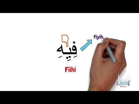 Reading Arabic - Words with long vowels - Lesson 8 | English