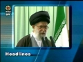Leader leading Eid namaz and news Septermber 2009 - English