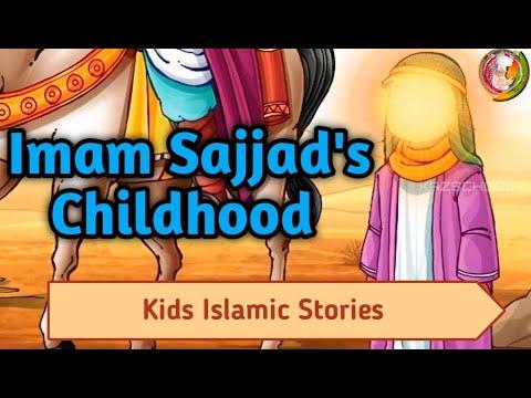 Imam Sajjad\'s Wonderful Childhood | Beautiful Animated Story for kids | Kazschool | English