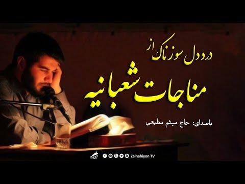 درد دل از مناجات شعبانیه | میثم مطیعی | مناجات با خدا سوزناک | Arabic & Farsi