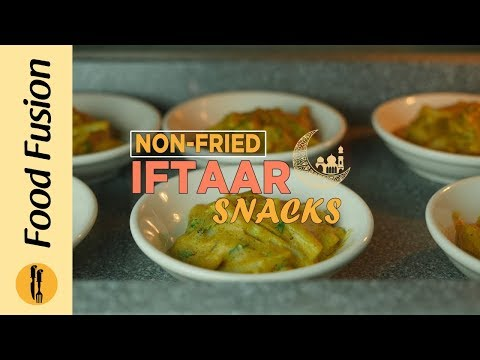 [Quick Recipes] Non Fried Iftar snacks - (Ramzan Special Recipes) - English Urdu