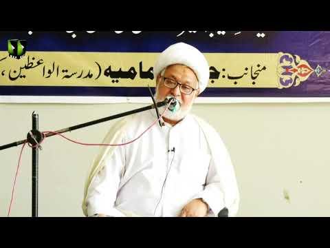 [Seminar] Hayat -e- Tayyaba Ameer ul Momineen Imam Ali (as) | H.I Ghulam Abbas Raesi | Urdu
