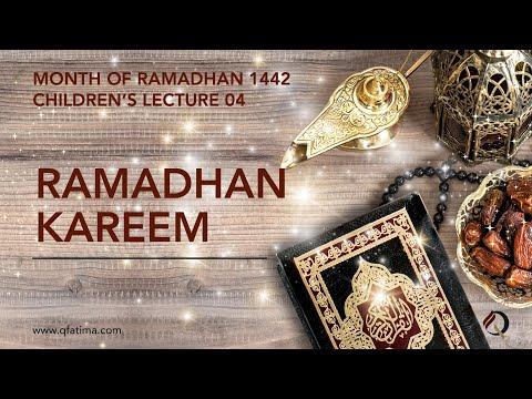 Month Of Ramadhan 1442 Children\'S Lecture PVI   Quran Recitation & Short Duas   English