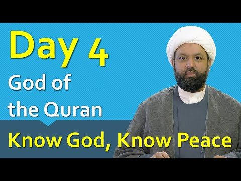 Know God, Know Peace - Ramadan Reflections 04 - 2021 | English
