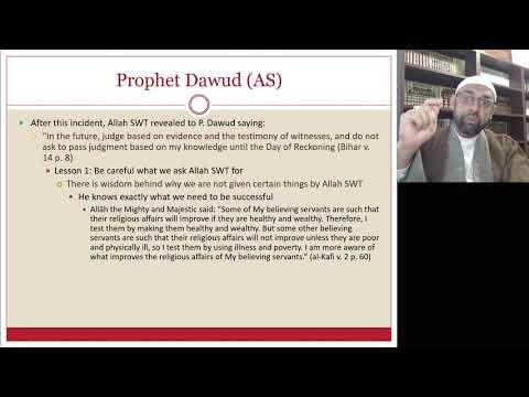 [Ramdhan Lecture V ] Stories From Quran   Sheikh Jaffer H Jaffer   English