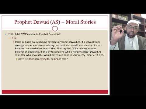 [Ramdhan Lecture VI ] Stories From Quran Hazrat Daud AS   Sheikh Jaffer H Jaffer   English