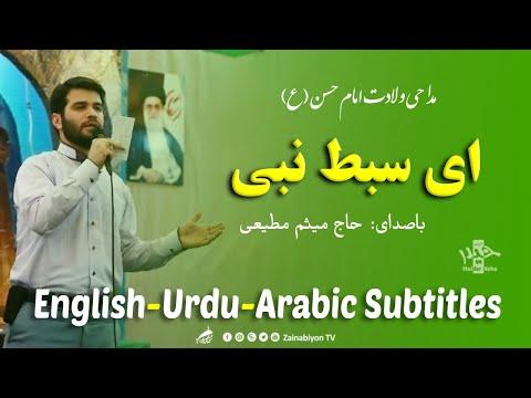 ای سبط نبی )امام حسن( میثم مطیعی | Farsi sub English Urdu Arabic