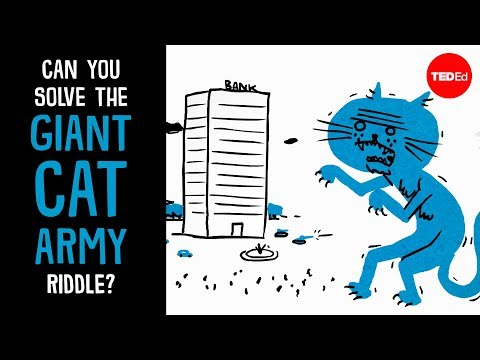 Can you solve the giant cat army riddle? - Dan Finkel - English