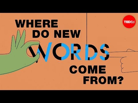 Where do new words come from? - Marcel Danesi - English