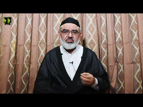 [1] Marfat or Bandagi | H.I Ali Murtaza Zaidi | Mah-e-Ramzaan 1442 | Urdu