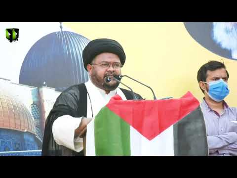 Markazi Youm AL-QUDS Rally 2021   Speech: Moulana Nazir Taqvi   Karachi   Mah-e-Ramzaan 1442