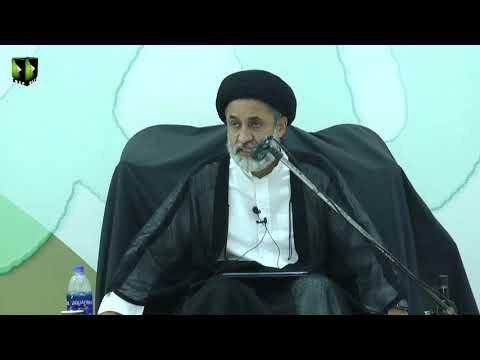 [10] Tafsir Surah -e- Baqrah Ke Muntakhib Aayat | H.I Muhammad Haider Naqvi | Mah-e-Ramzaan 1442 | Urdu