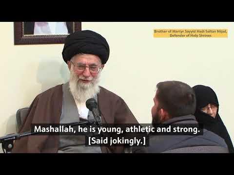 Eager to defend the Holy Shrines | Ayatollah Sayyid Ali Khamenei | Farsi subs Eng