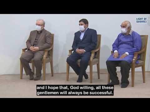 Imam Khamenei\'s Speech after Receiving Iranian Corona vaccine   June 25, 2021 - Farsi sub Eng