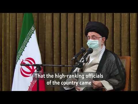 Iranian vs. US elections   Imam Khamenei - Farsi subs Eng