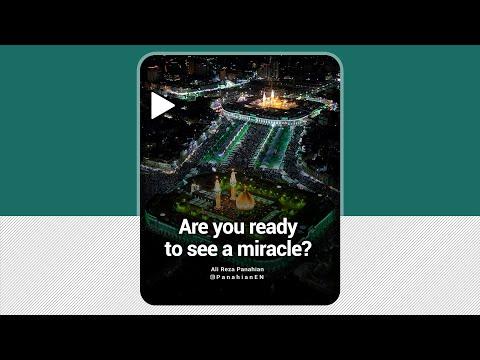 [Clip] Are you ready to see a miracle   Agha Ali Reza Panahian   Farsi sub English