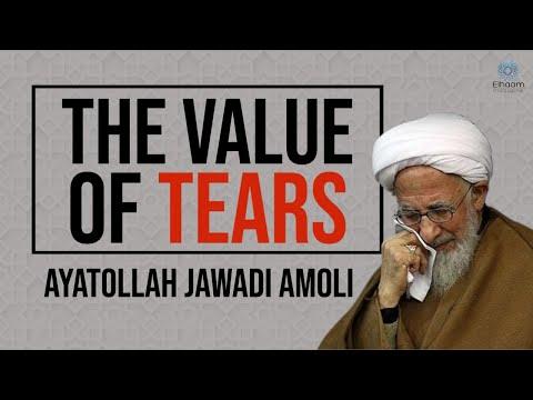 The Value of Tears   Ayatollah Jawadi Amoli - Farsi sub English