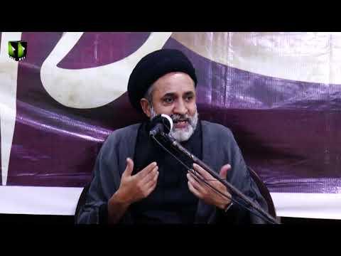 [5] Azadari, Rooh-e-Baydari Or Nusrat -e- Imam (as)   H.I Muhammad Haider Naqvi   Muharram 1443/2021   Urdu