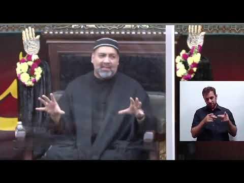 [09] Topic:Cultivating an Islamic Identity in a Postmodern Era - Syed Asad Jafri - 9th Muharram 1443,2021 English